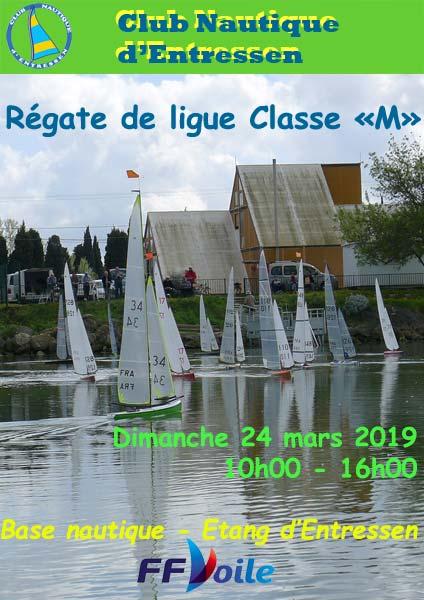 Affiche régate VRC classe M